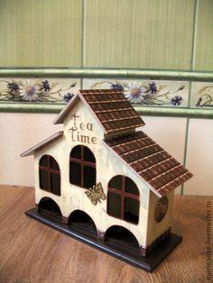 чайный домик - домик,домик для чая,чайный домик,чайная шкатулка,подарок