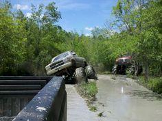 Mud Trucks like a rock