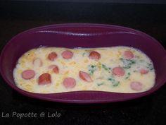 Omelette express knaki et basilic
