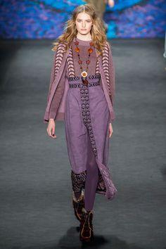 Anna Sui Fashion, 70s Fashion, New York Fashion, Runway Fashion, Fashion Show, Fashion 2015, High Fashion, Grunge, Boho Outfits