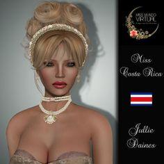 Miss Costa Rica - Jullie Daines