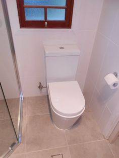 New concealed Toilet , self closing seat Bathroom Renovations Brisbane, Norman, Toilet, Park, Flush Toilet, Toilets, Parks, Toilet Room, Bathroom