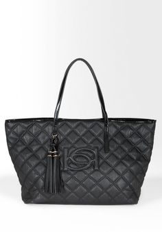 Bebe Lisa Quilted Tote  Style # 204515