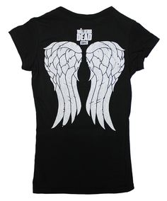 BikerOrNot Store - The Walking Dead - Ladies V-Neck I Heart Daryl Wings T-Shirt, $21.97 (http://store.bikerornot.com/the-walking-dead-ladies-v-neck-i-heart-daryl-wings-t-shirt/)