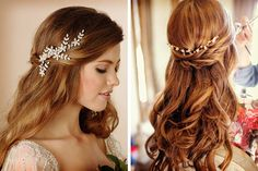 Opciones para acompañar el peinado de novia y el tocado #bodas #ElBlogdeMaríaJosé #PeinadoNovia #TocadoNovia #LookNovia