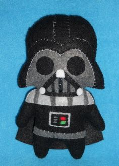 Awesome darth for Eric's stocking MissCoffee Rendered Geek Luminaries in Plushie Form Darth Vader.
