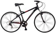 Schwinn Men's Siro Hybrid Bicycle Wheel, Medium Frame Size Black Bike Path, Bike Run, Buy Bike, Bicycle Maintenance, Cool Bike Accessories, Bike Reviews, Cycling Equipment, Sport Bikes, Cool Bikes