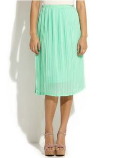 Vintage Coral Pink Skirt Sheer Chiffon Midi Skirt Circle Skirt ...