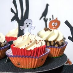 Halloween Party Cupcake Decoration Kit