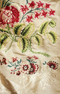 Detail: Dress, ca. 1780, British, silk. The Met