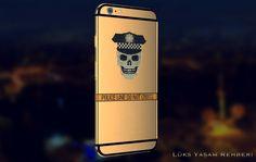 Kurukafa Desenli iPhone 6 | Lüks Yaşam Rehberi