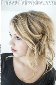 20 Breathtaking Loose Updos You Can Wear Anywhere