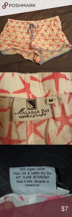 Malabar Bay shorts 100% cotton shorts by Malabar Bay. Size medium. Malabar Bay Shorts