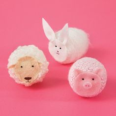 Could be a cute thing to take to the NICU for Easter - if you see this, Laura, what do you think?