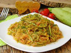 Kabak Sinkonta Tarifi, Nasıl Yapılır? (Resimli) | Yemek Tarifleri Spaghetti, Pasta, Ethnic Recipes, Diet, Food, Meal, Food Recipes, Essen, Hoods