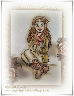 Annie #encinostamps  Encino Stamps