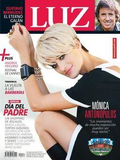 Monica Antonopulos - Luz Magazine Cover [Argentina] (1 June 2014)