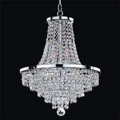 Hampton Bay 5 Light Brushed Nickel Chandelier with Clear Glass Shades HB2583 35 The Home Depot