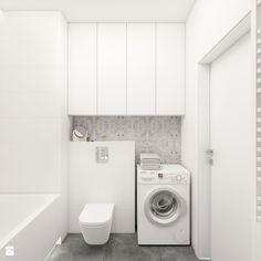 Mieszkanie 70m2 (2) Warszawa - Mała łazienka w bloku bez okna, styl nowoczesny - zdjęcie od INTERIOLOGY - homebook