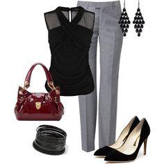 Wear to work.. Minus the heels!