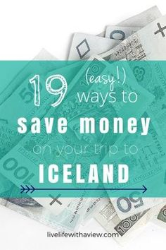 Trying to budget your trip to Iceland? Want to experience Iceland but not by spending all your money? Click here for 19 easy tips for helping you travel in Iceland without breaking the bank!   Life With a View www.livelifewithaview.com