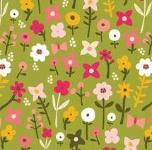Village Green - Wild Flowers by Carolyn Gavin