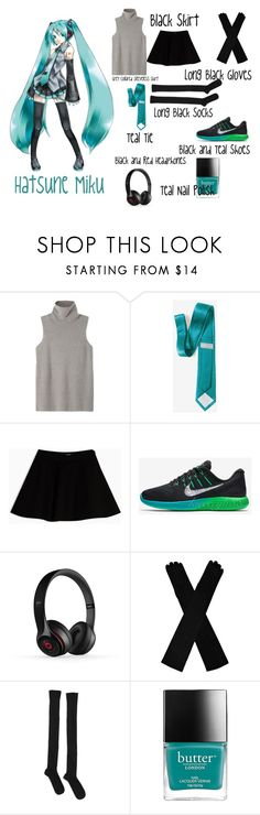 """""""Miku (Vocaloids)"""" by lunathebubblemonster ❤ liked on Polyvore featuring The Row, Max&Co., Frontgate and Base Range"""