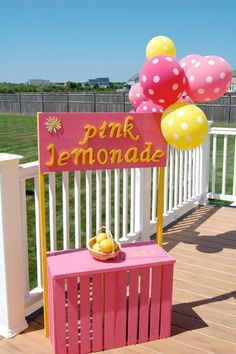 lemonade stand ideas | lemonade stand for party