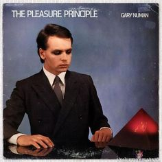 Gary Numan – The Pleasure Principle Vinyl Cd, Vinyl Music, Vinyl Records, New Wave Artists, Cd Cover Art, Gary Numan, Post Punk, Debut Album, Rock Music