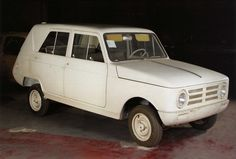 OG   1965 Renault 6 - Project 118   Initially, it was a maxi R4 program designed by Ghia.