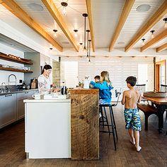 Designing an open kitchen