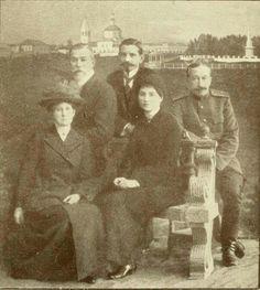 The Romanov retinues:General Tatichtchef,Pierre Gilliard,Madame Catherine Schneidner,Countess Anastasia Henrikova,Prince Dolgoruky.A♥W