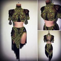 #abrahammartinez #newdress #latin #black #cristal #citrine #swarovski #design #latin #forsale FOR SALE!!