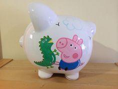 Personalized Large  Peppa. Piggy  by KUTEKUSTOMKREATIONS on Etsy