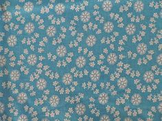 Vintage 1930's Cotton Feed Sack Fabric Lt Blue w White Flowers Snowflakes 36x43 | eBay