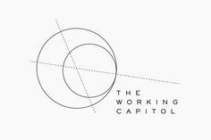Logo for Singapore co-working space The Working Capitol by Graphic Design Studio Foreign Policy