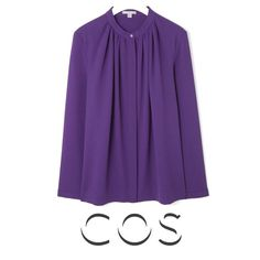 COS Gathered Neck Shirt - Queen Maxima - Style