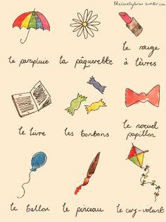 J'aime la langue française! (I love the french language) <3