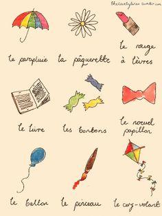 J'aime la langue française! (I love the french language) <3