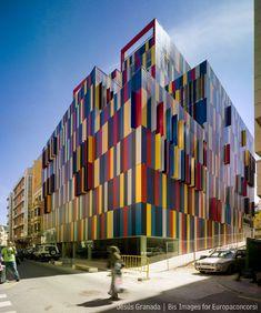 "Ceuta, Spain  Edificio de viviendas ""pret a porter""  MGM ARQUITECTOS"