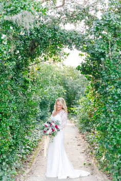 Romantic Bridal Portraits at Middleton Place in Charleston SC by Dana Cubbage Weddings