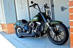 Fatboy Lo Breakout 21 front wheel - Harley Davidson Forums
