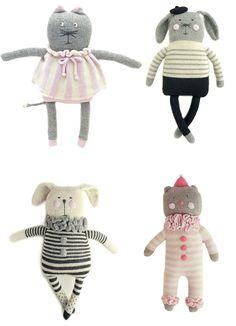 Knuffels à la carte blog: Fournier dolls!