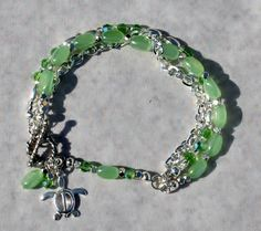 Hey, I found this really awesome Etsy listing at http://www.etsy.com/listing/179139278/silver-mint-green-multi-strand-bracelet