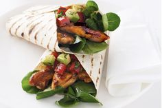 Chicken Fajitas  This quick and simple Mexican-inspired meal is perfect for hot summer days.