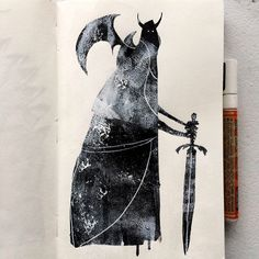 Jeffrey Alan Love: More recent sketchbook pages.