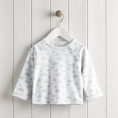 Cloud Reversible Sweatshirt AW 2015 http://www.parentideal.co.uk/the-white-company---baby-boys-clothing.html
