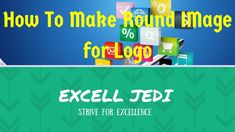 How To Make Round Image for Logo
