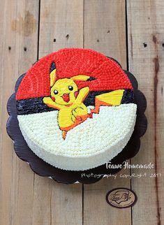 Welcome to Teawe's blog: Pokemon Pikachu Cake