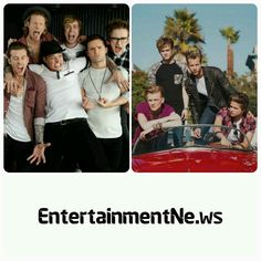 #MCBUSTED / #THEVAMPS (2)   McBusted's first album as a super group is out, and the boys are winning themselves celebrity fans.  The band got back in the studio after selling out thirty-five headline shows, since reforming in 2013.  The Vamps supported them on that tour, and their #ConnorBall tells us which band is his favourite - #McFly, or #Busted?  Posted on: Tuesday 13th January 2015, 10:04 AM  Source: CI4TKS™ - The Ticket Search Engine! www.EntertaimmentNe.ws   Author: Click It 4…